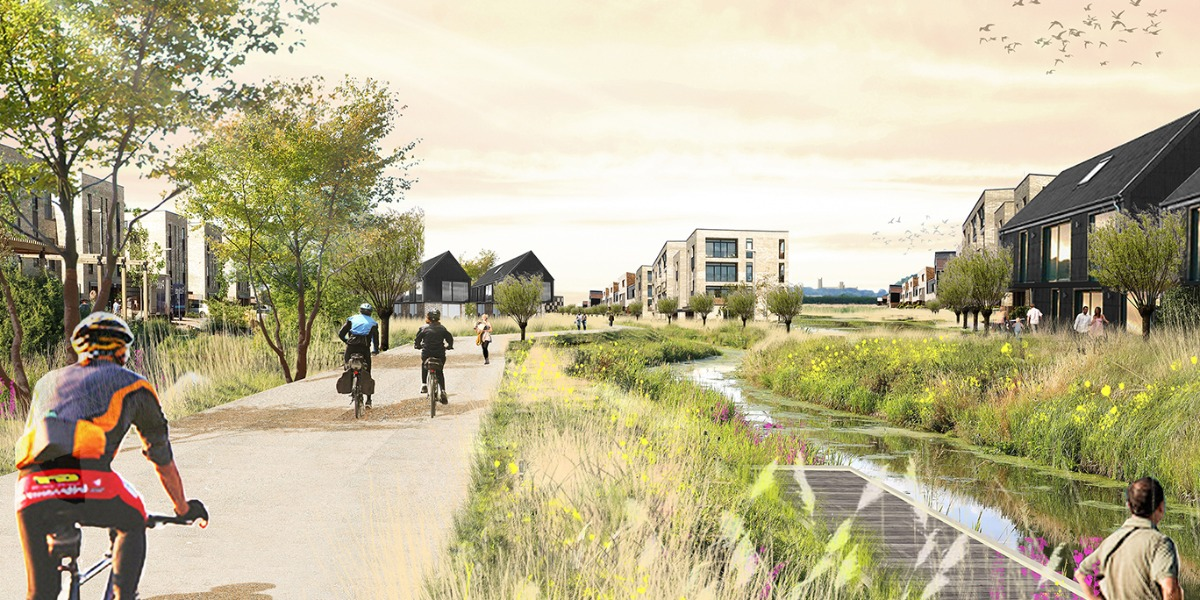 Planning approval for RLW Estates at Waterbeach New Town East