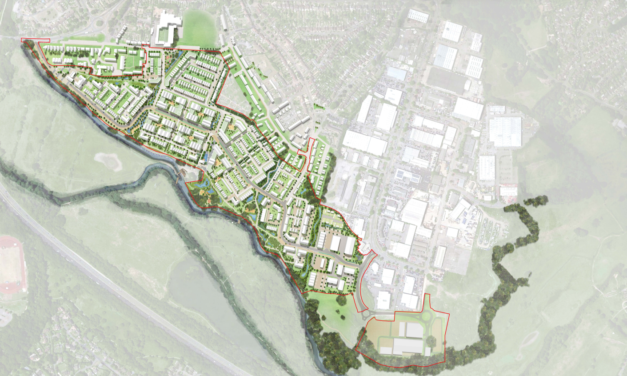 1,500-home Weyside Urban Village plans submitted