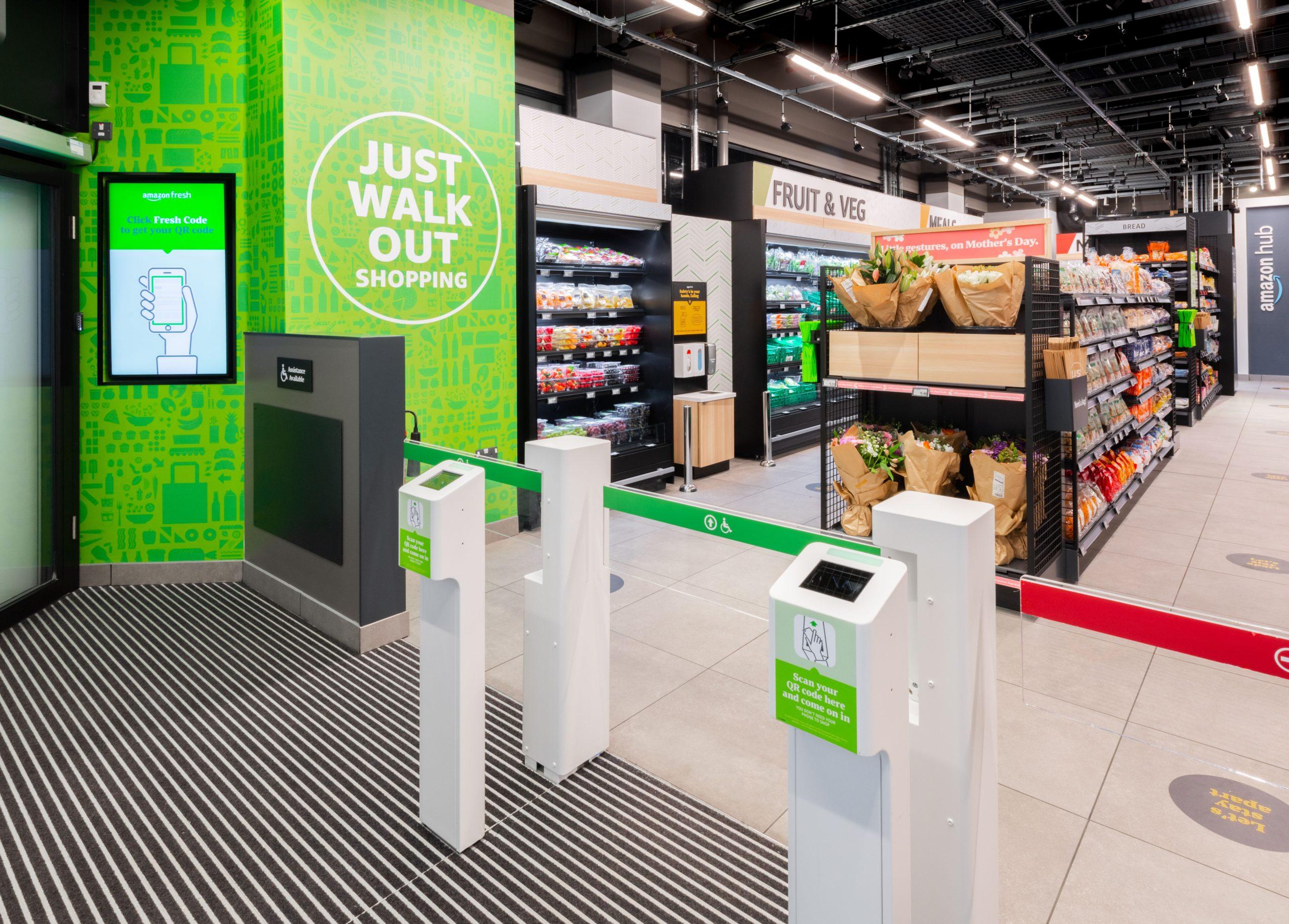 New Amazon Fresh Store