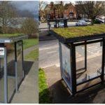 All aboard for green bus shelters in Milton Keynes