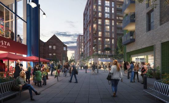 Approval for Nicholson Quarter scheme