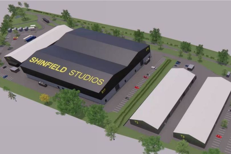 Temporary Shinfield Studios plan for major US production