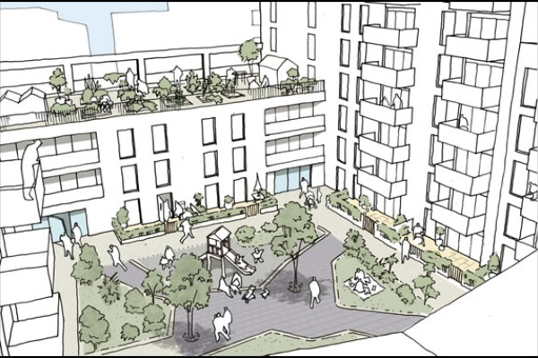 Hounslow residents support regeneration of their estate