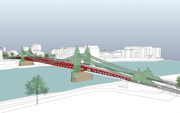 Double-decker solution grows for Hammersmith Bridge