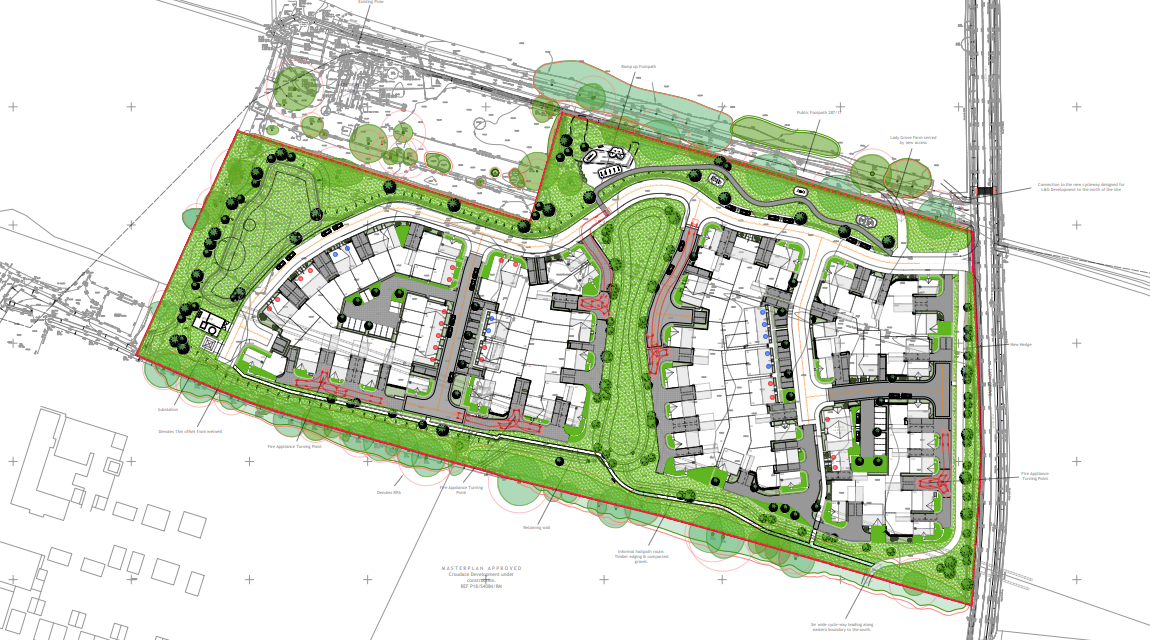 Kier plans 86 homes at Didcot Garden Town