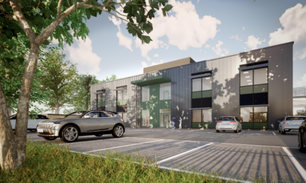 Homes and office plan for Wootton Business Park