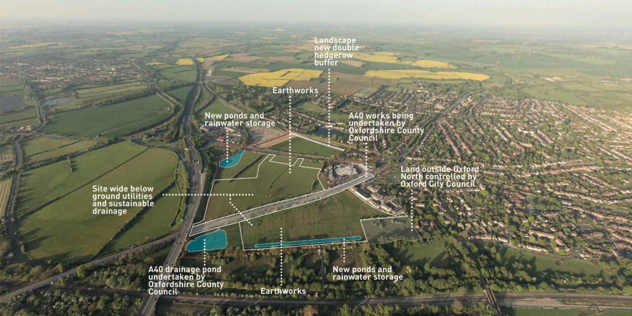 Oxford North moves closer