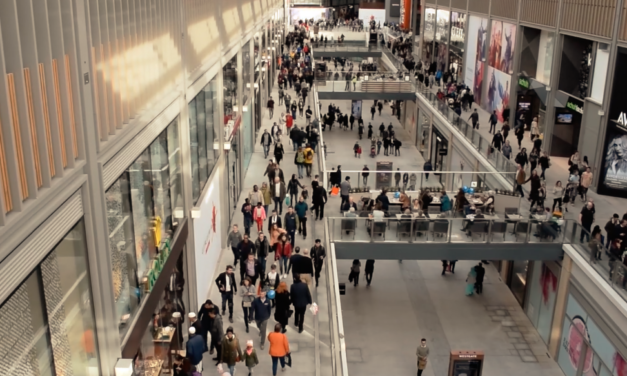 Shoppers flock back to Westgate centre
