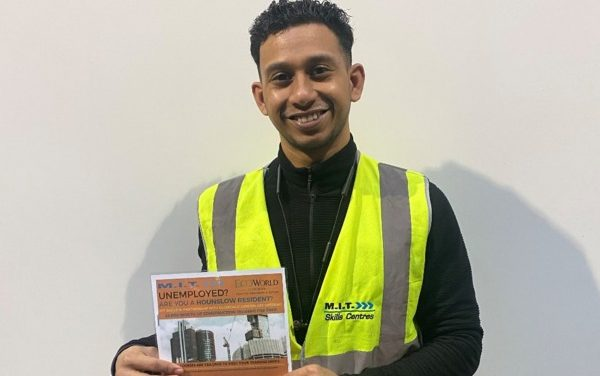 EcoWorld London helps train Hounslow residents in building skills
