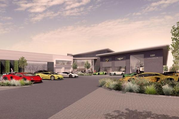 Green light for £30 million luxury car project in Hatfield