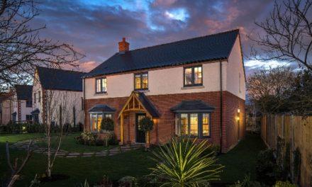 Hayfield open show homes in Great Gransden