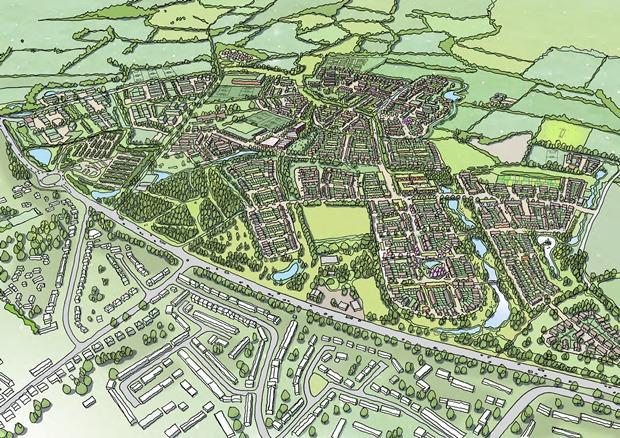 Inspector to consider 2,200-home Salt Cross Garden Village