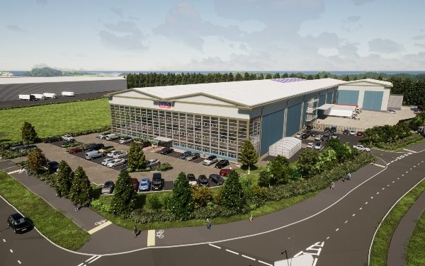 Plans submitted for 200,000 sq ft shed and office in Suffolk