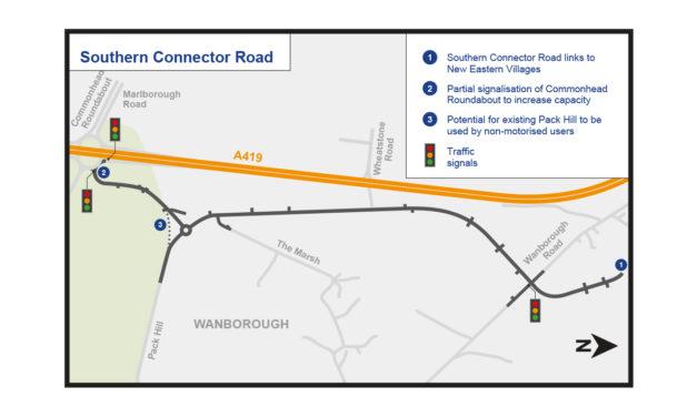 £11.6m for new roads in Swindon