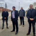Local MP checks progress of Thames Enterprise Park