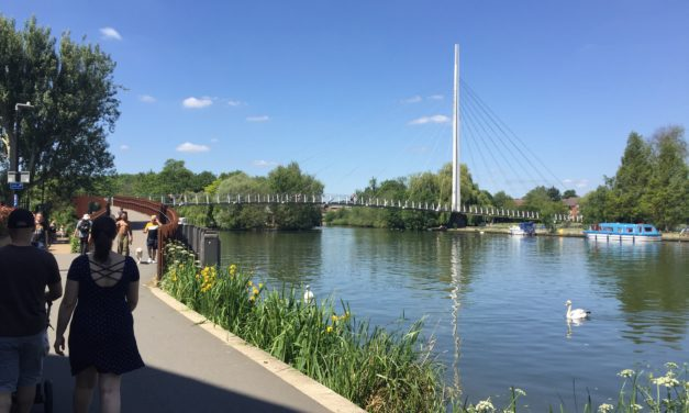 View from the riverbank: Leisure park could be even better