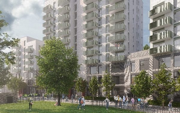 Countryside develops in Acton alongside the Department of Education