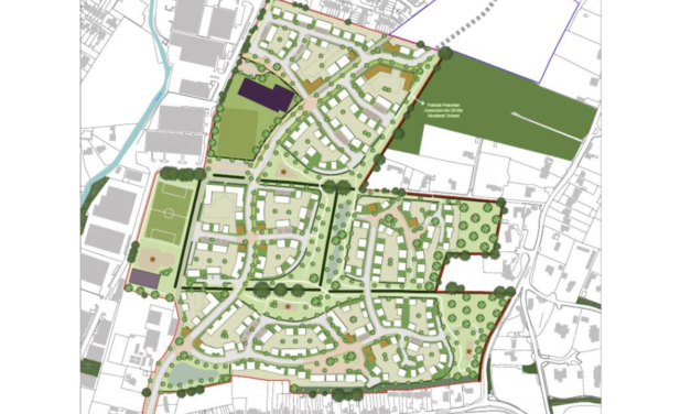Catesby Estates seeks permission for 400 homes at Bourne End