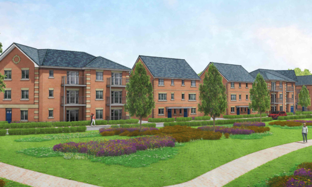 186 homes planned for Chertsey