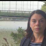 Hammersmith Bridge: the view from Richmond Park