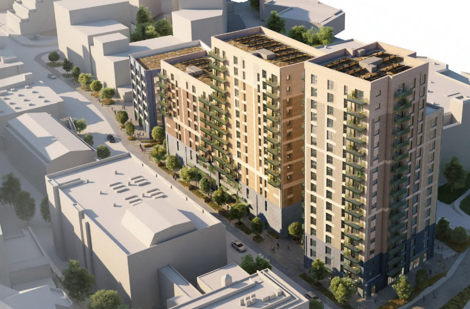 Mixed-use scheme for Bracknell bus depot site