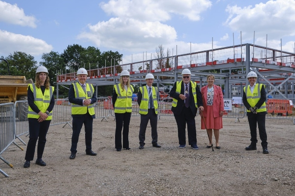 Construction start for Morgan Sindall in Cambridge