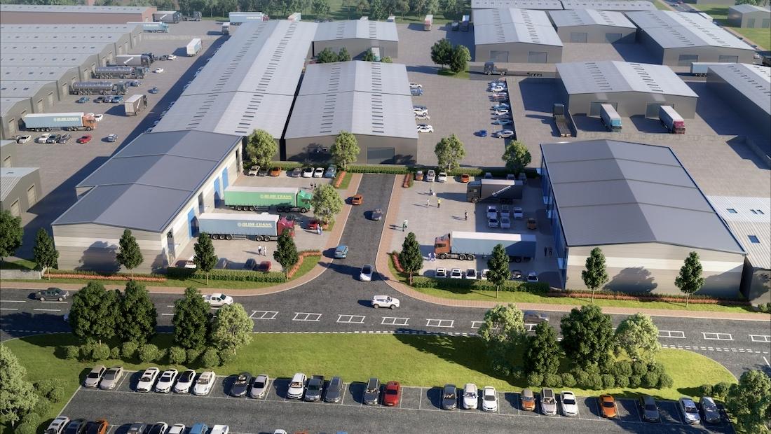 Work starts on industrial scheme for Bicester