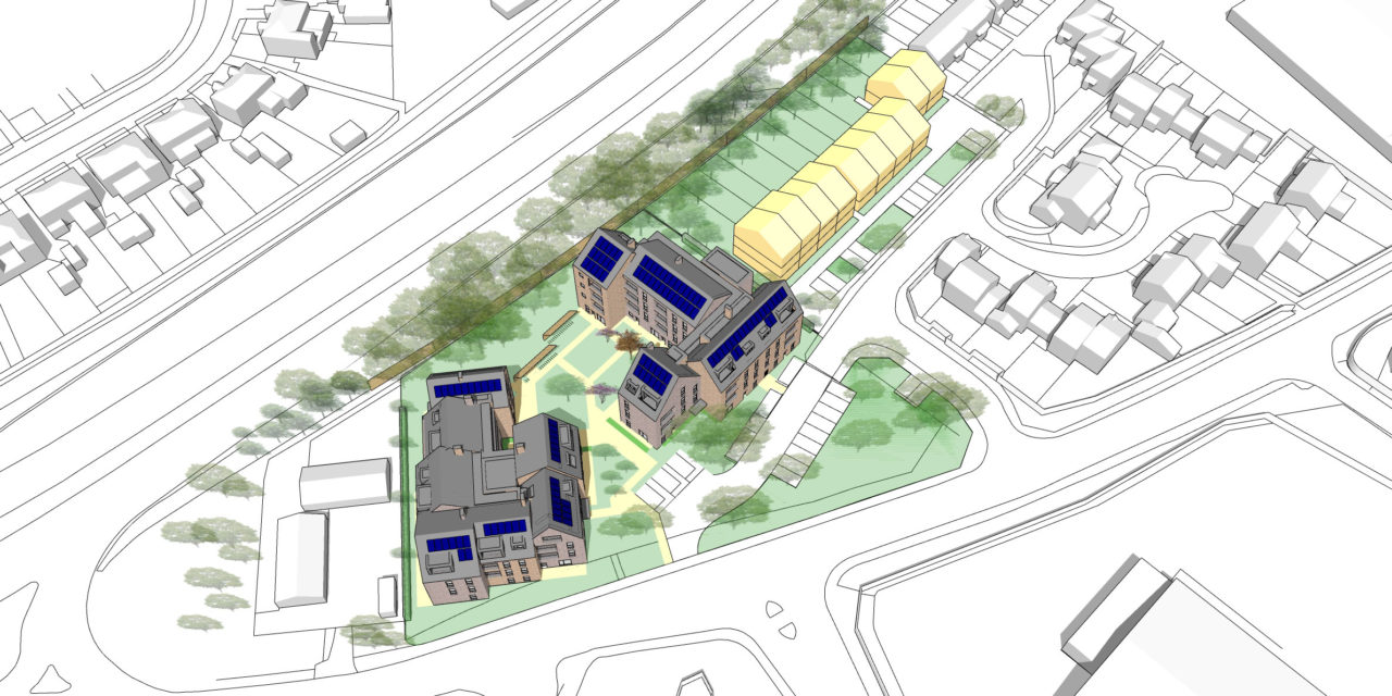 Plan for 61 homes by Oxford City Council