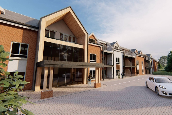 New name for £2m retirement housing scheme in Norfolk