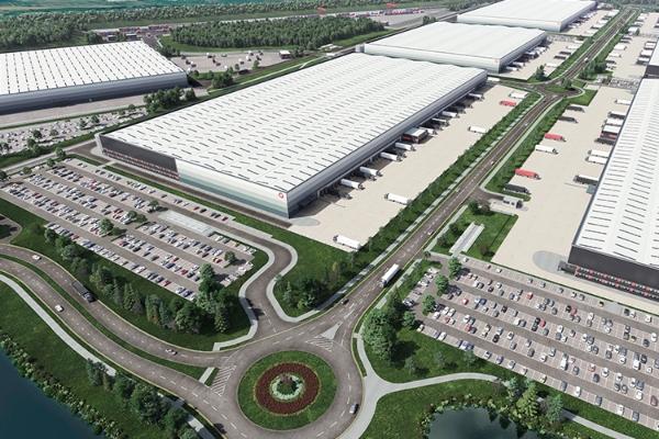 Construction of rail freight interchange begins at SEGRO Logistics Park