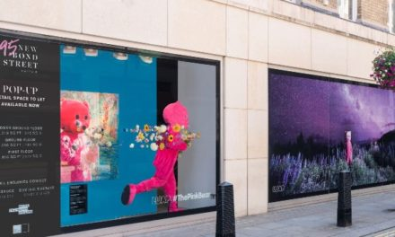 Great Portland Estates backs the arts with installation at 95 New Bond Street