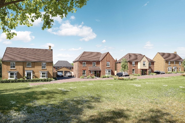 New homes for neighbours at Ramsey Park in Huntingdon