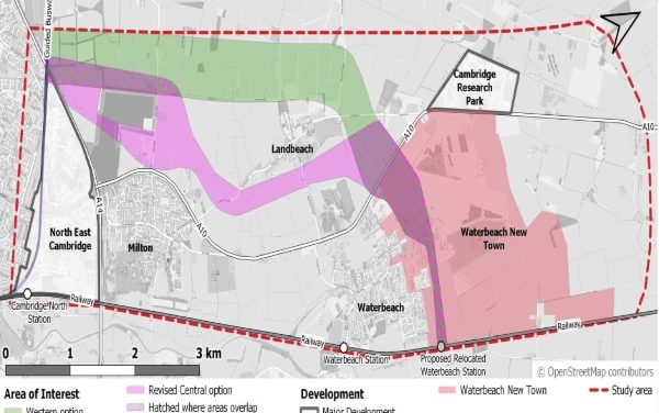 Waterbeach to Cambridge to become a 'strategic transport link'