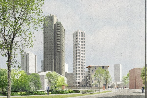 Wandsworth approves the 'Pencil Tower'