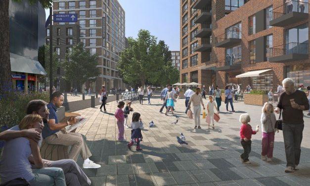 Farnborough Civic Quarter plans on show