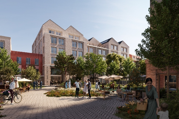 £155 million BTR and office scheme to be built in Cambridge
