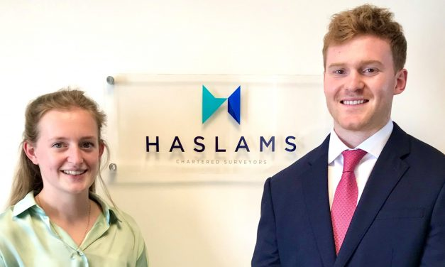 Graduates join Haslams Chartered Surveyors