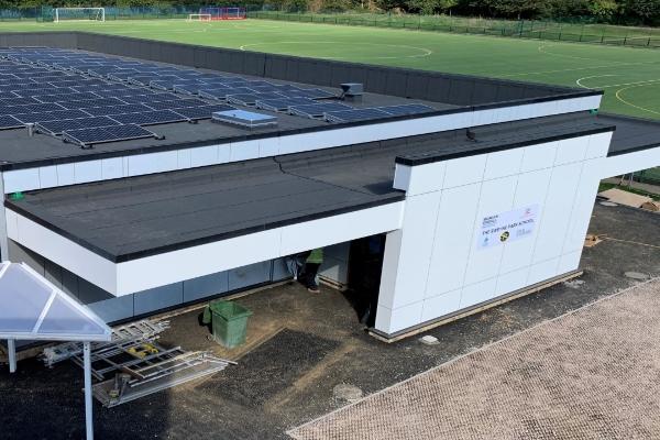 First net zero carbon school building in Essex