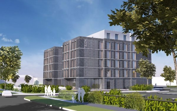 Lift off for six storey hotel at Southend Airport