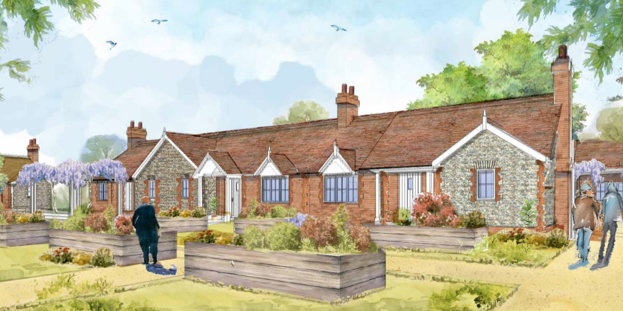 150-unit retirement village for Basingstoke