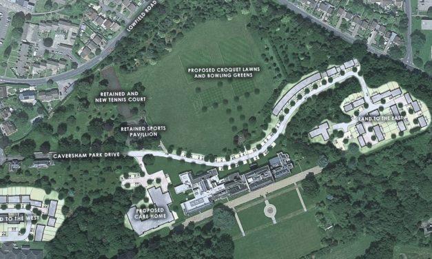 Caversham Park plans unveiled